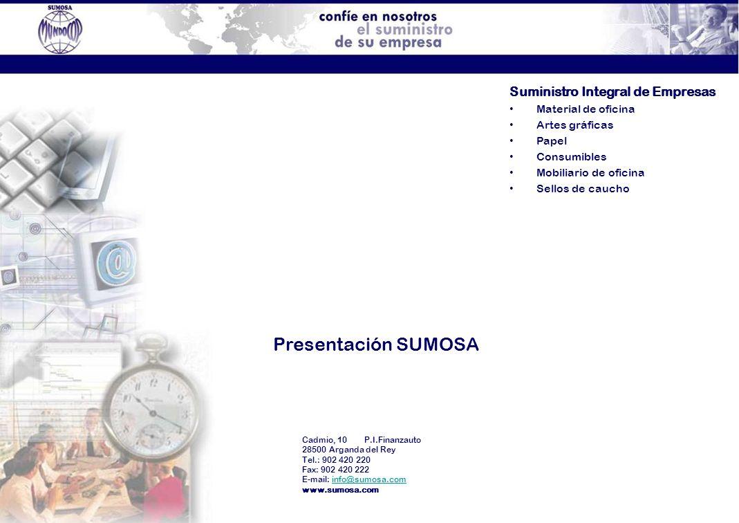 Presentación SUMOSA Suministro Integral de Empresas