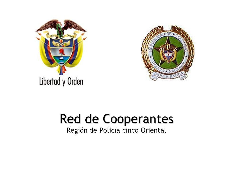 Red de Cooperantes Región de Policía cinco Oriental