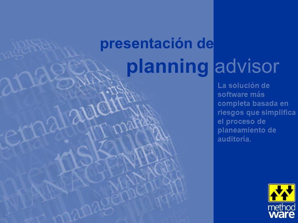 Automatice su enfoque de planeamiento de auditoría para ahorrar tiempo y mejorar la precisión de las evaluaciones