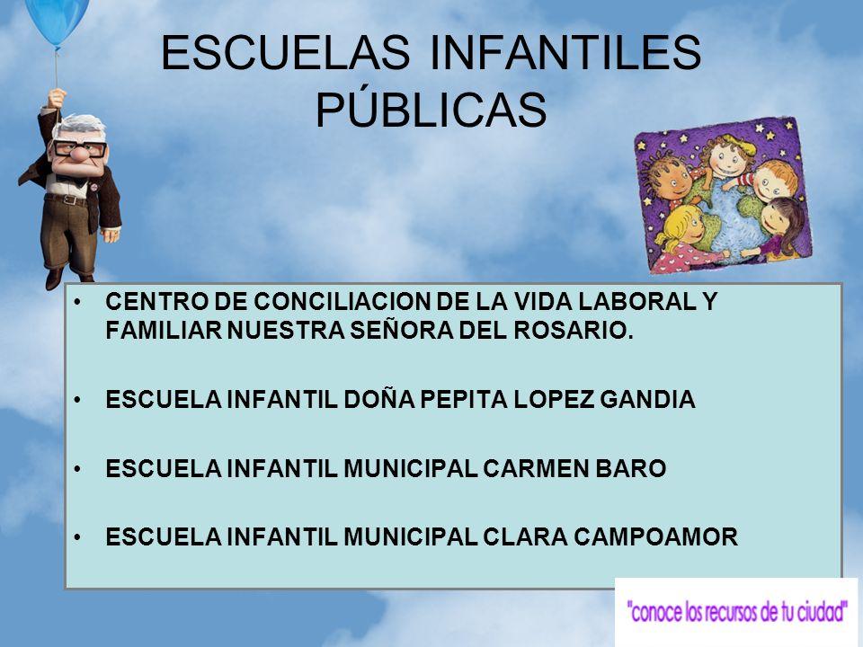 ESCUELAS INFANTILES PÚBLICAS