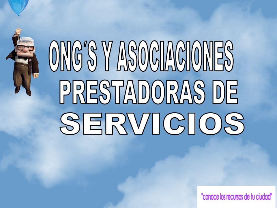 ONG´S Y ASOCIACIONES PRESTADORAS DE SERVICIOS