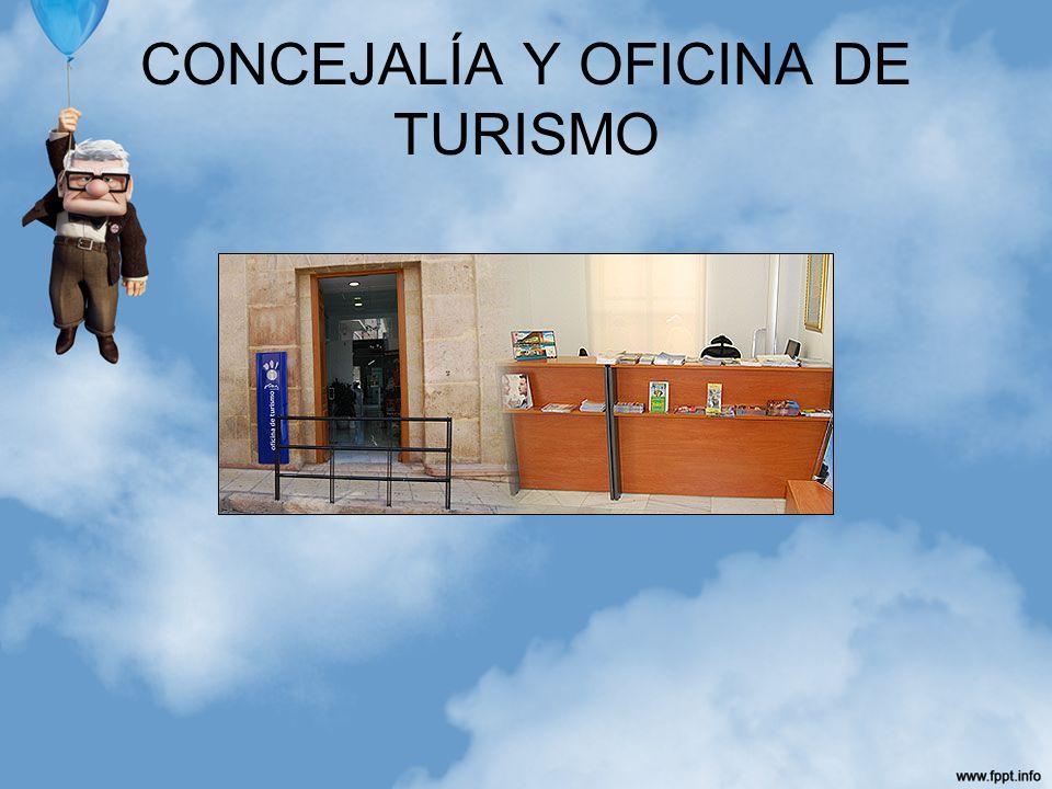 CONCEJALÍA Y OFICINA DE TURISMO