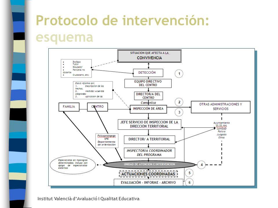 Protocolo de intervención: esquema