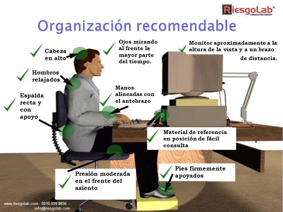 Organización recomendable
