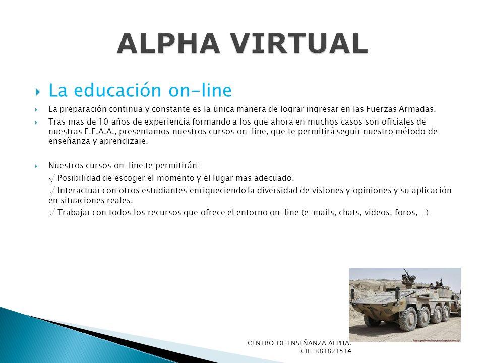 ALPHA VIRTUAL La educación on-line