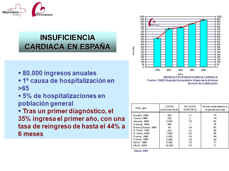 INSUFICIENCIA CARDIACA EN ESPAÑA