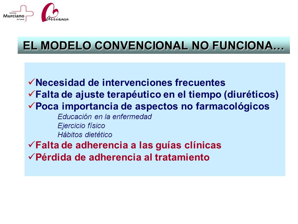 EL MODELO CONVENCIONAL NO FUNCIONA…