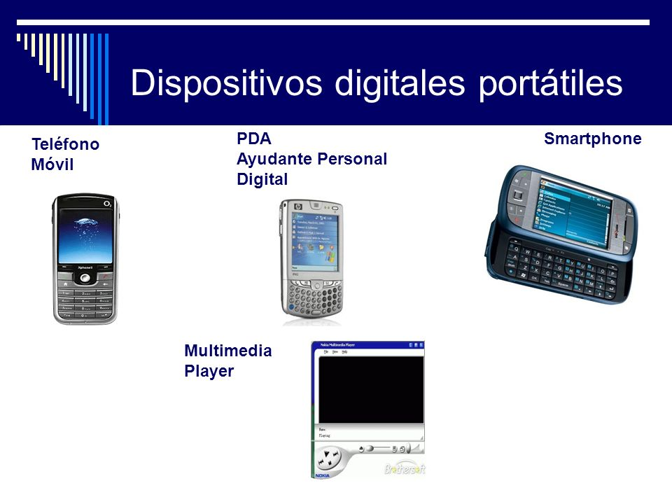 Dispositivos digitales portátiles