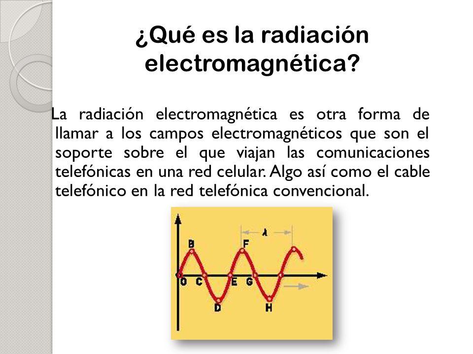 ¿Qué es la radiación electromagnética
