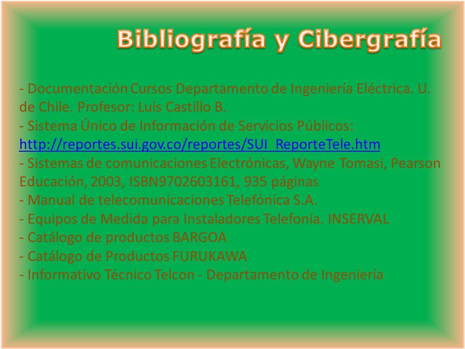 Bibliografía y Cibergrafía