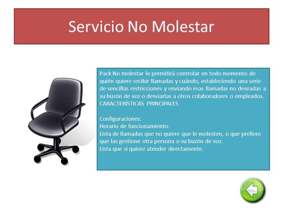 Servicio No Molestar