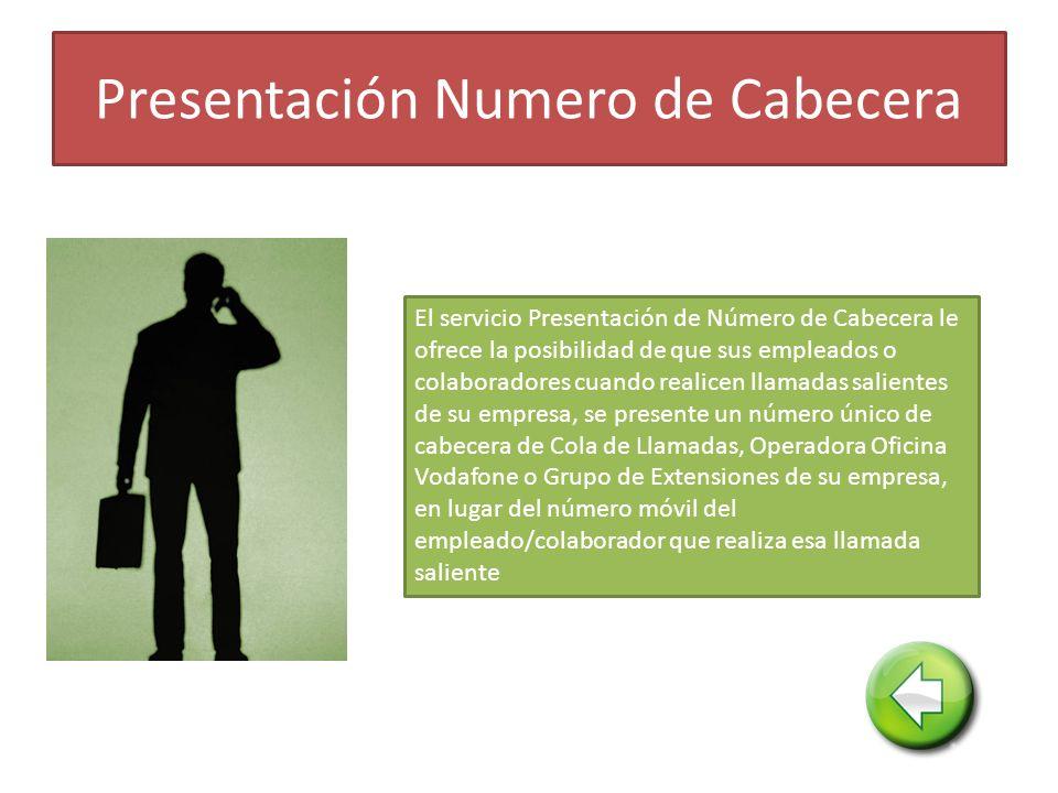 Presentación Numero de Cabecera
