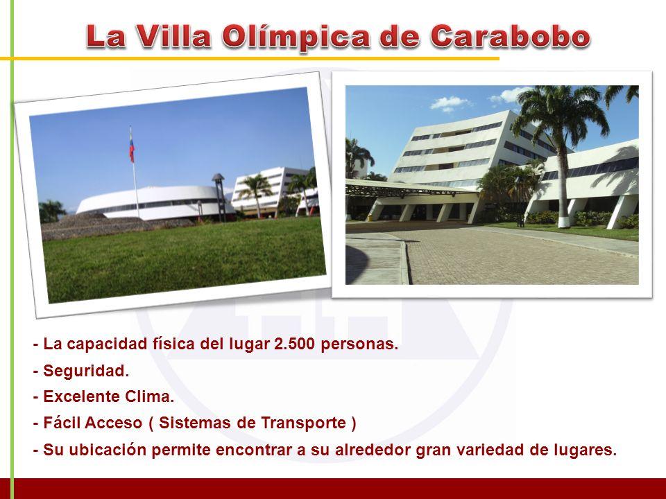 La Villa Olímpica de Carabobo