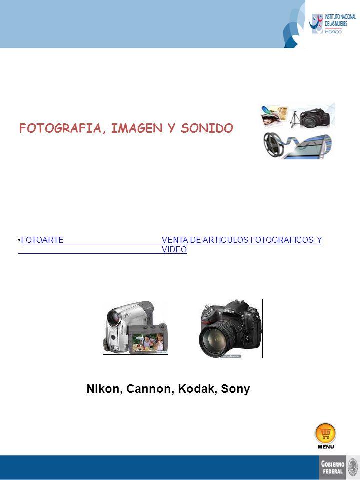 FOTOGRAFIA, IMAGEN Y SONIDO