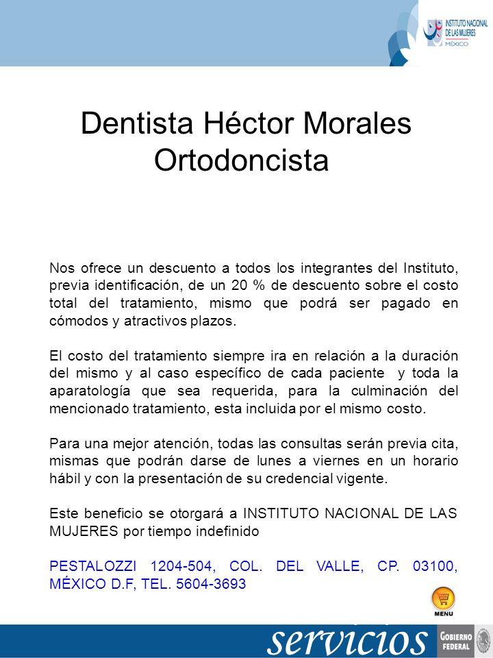 Dentista Héctor Morales