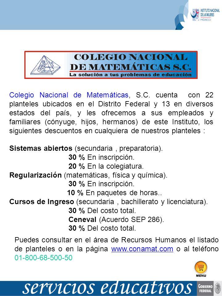 Colegio Nacional de Matemáticas, S. C