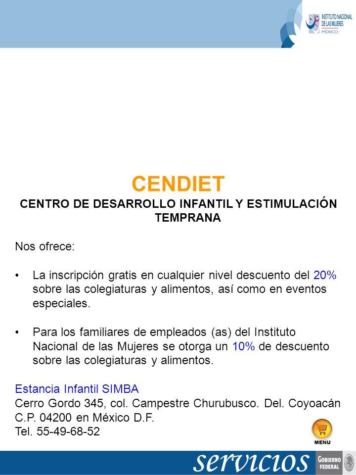 CENTRO DE DESARROLLO INFANTIL Y ESTIMULACIÓN TEMPRANA