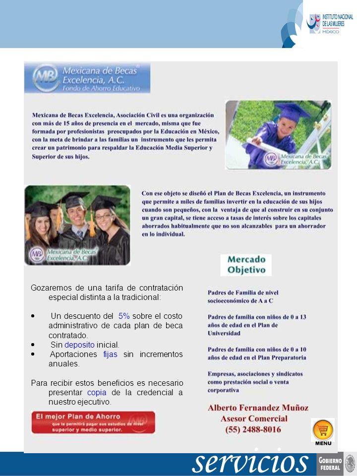 servicios Vigencia: Permanente, verificar en 1 año Inicio: 6/jun/2007