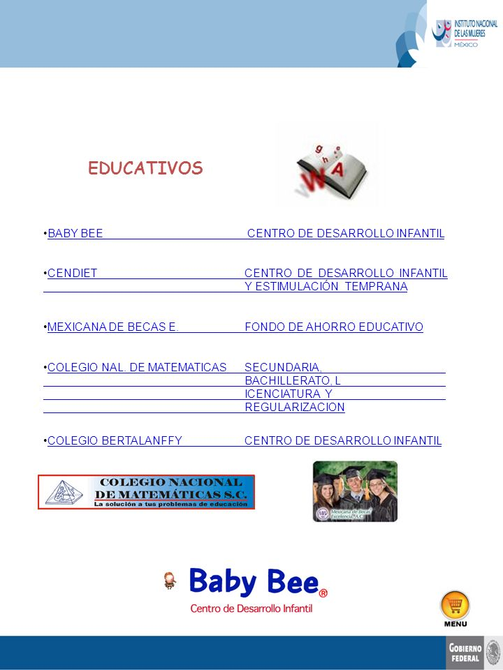 EDUCATIVOS BABY BEE CENTRO DE DESARROLLO INFANTIL