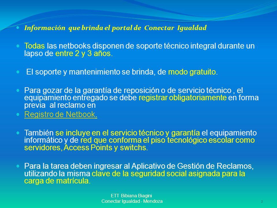 Conectar Igualdad - Mendoza