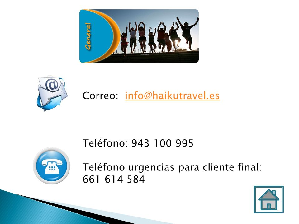 Correo: info@haikutravel.es