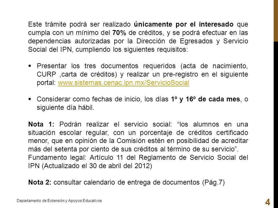 Nota 2: consultar calendario de entrega de documentos (Pág.7)