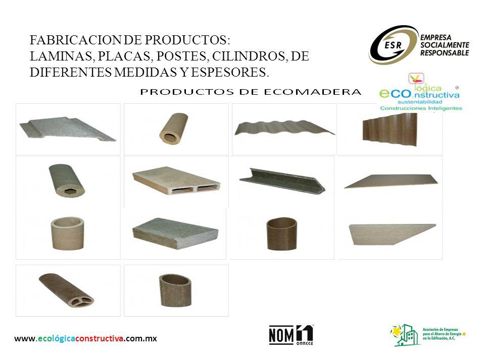 FABRICACION DE PRODUCTOS: