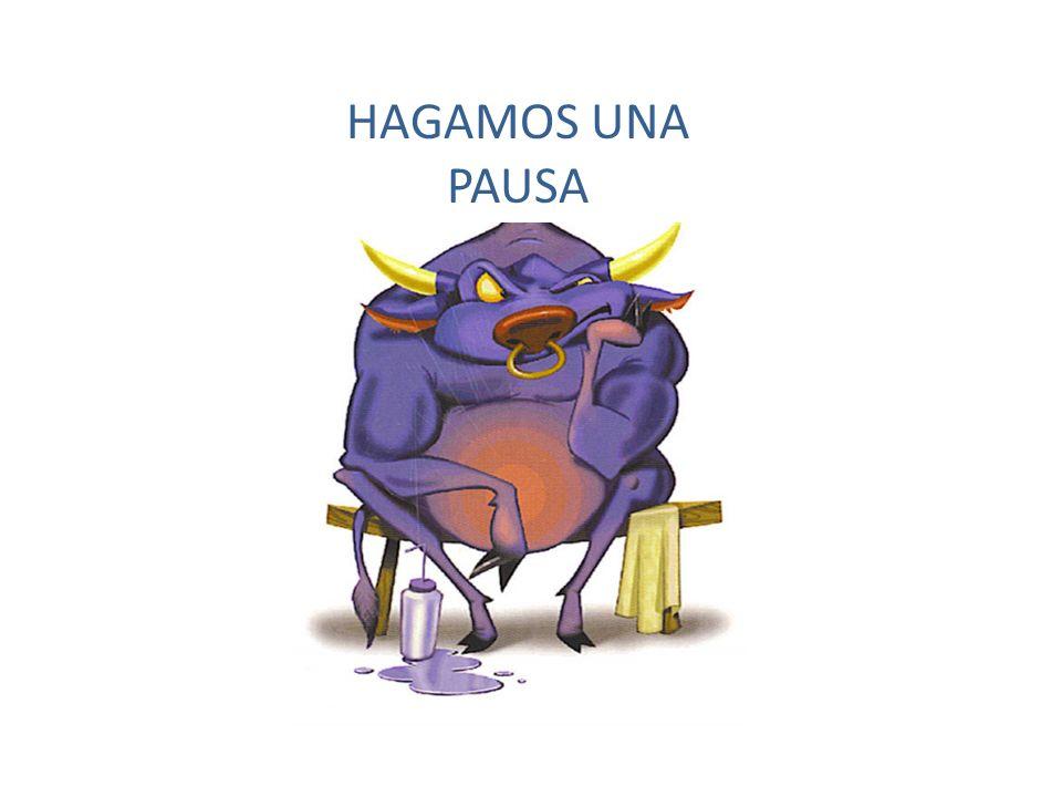 HAGAMOS UNA PAUSA