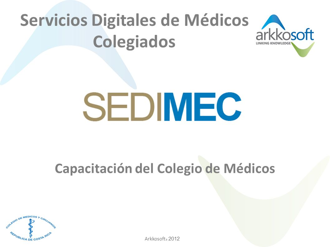 Servicios Digitales de Médicos Colegiados