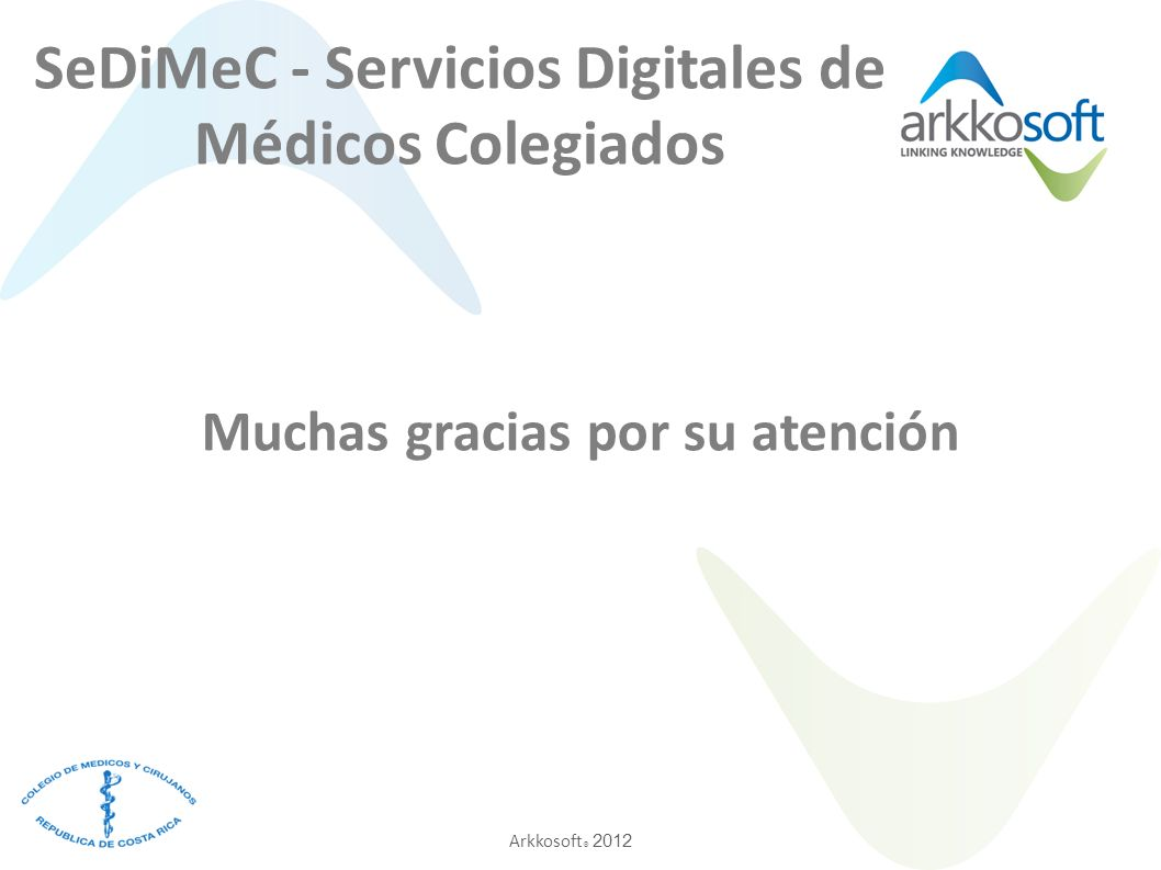 SeDiMeC - Servicios Digitales de Médicos Colegiados