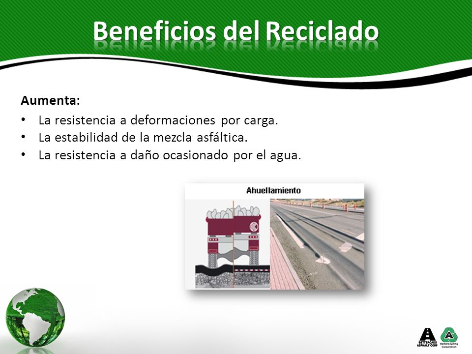 Beneficios del Reciclado
