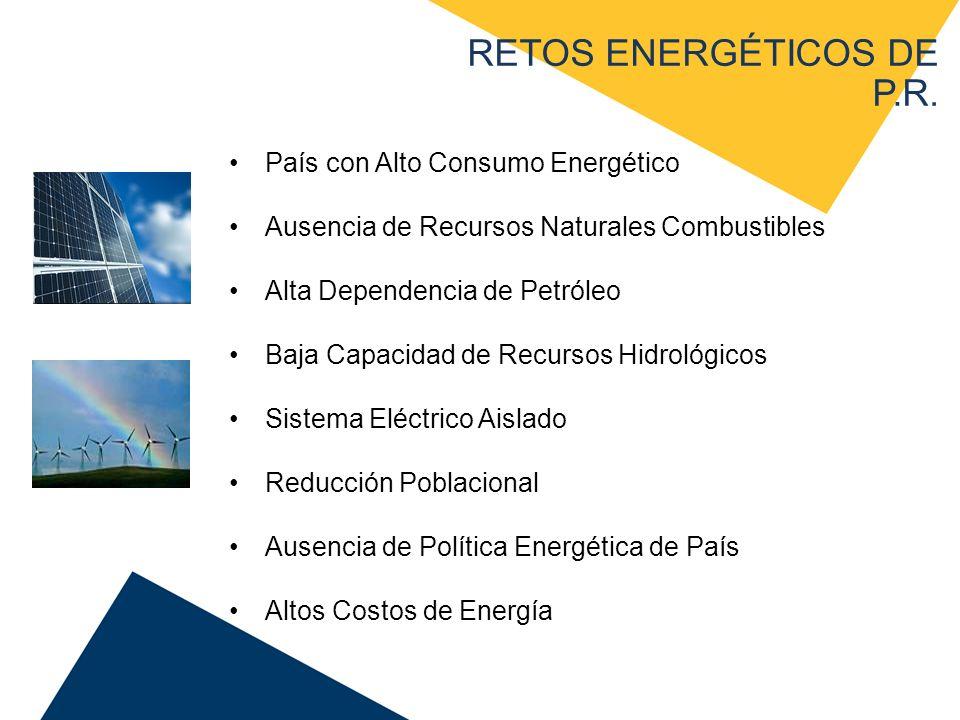 RETOS ENERGÉTICOS DE P.R.