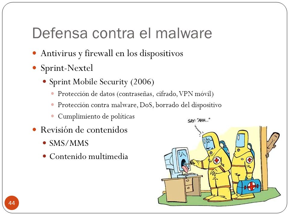Defensa contra el malware