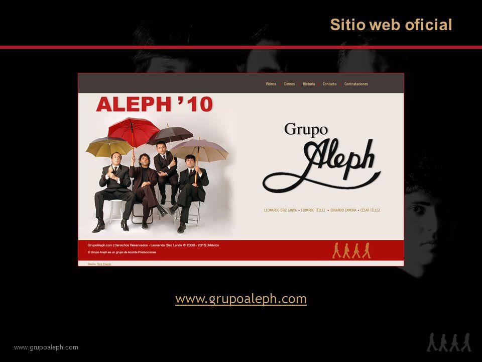 Sitio web oficial www.grupoaleph.com