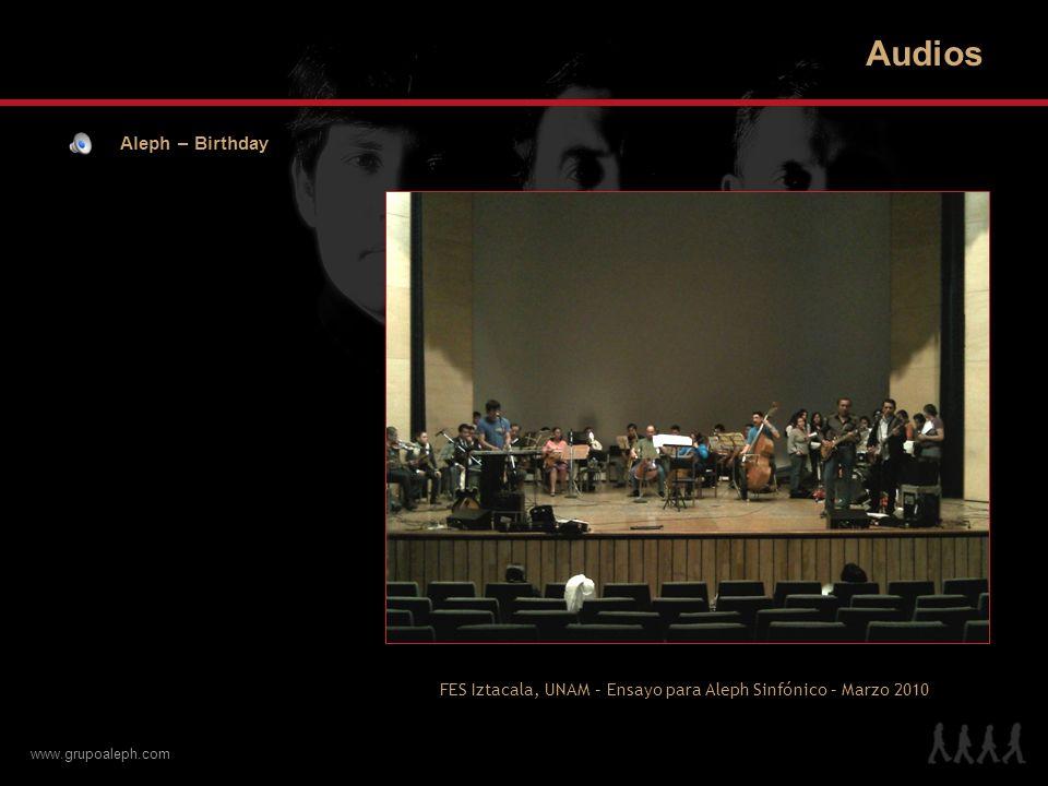 Audios Aleph – Birthday