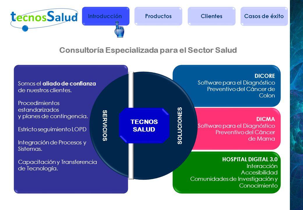 Consultoría Especializada para el Sector Salud