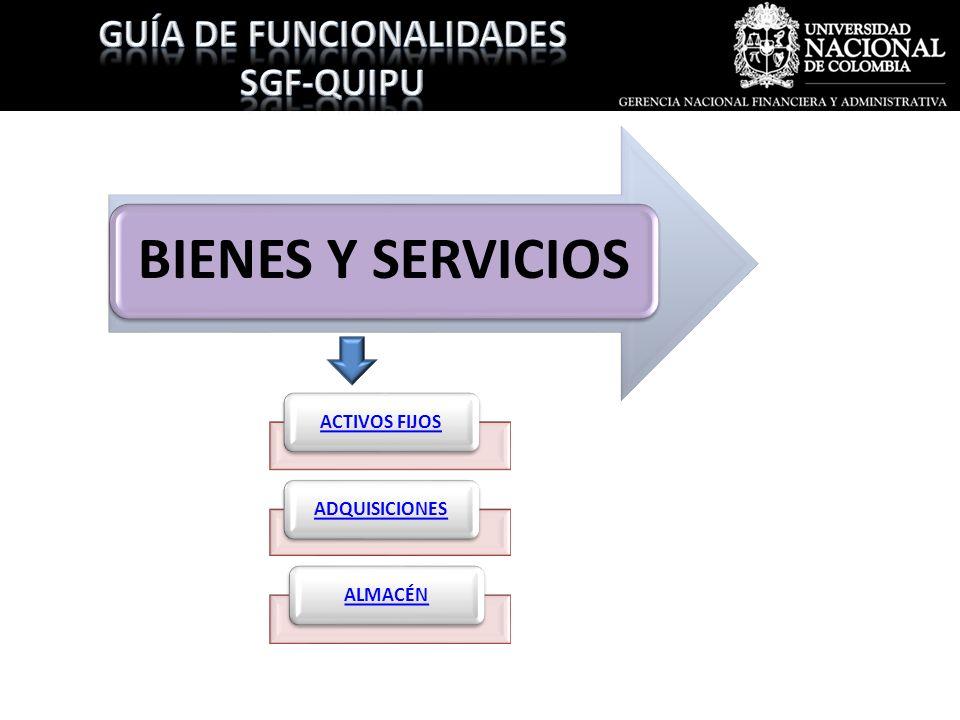 GUÍA DE FUNCIONALIDADES