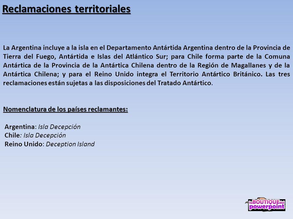 Reclamaciones territoriales