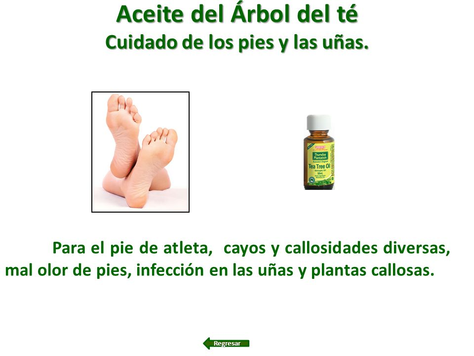 Cuidado de los pies y las uñas.