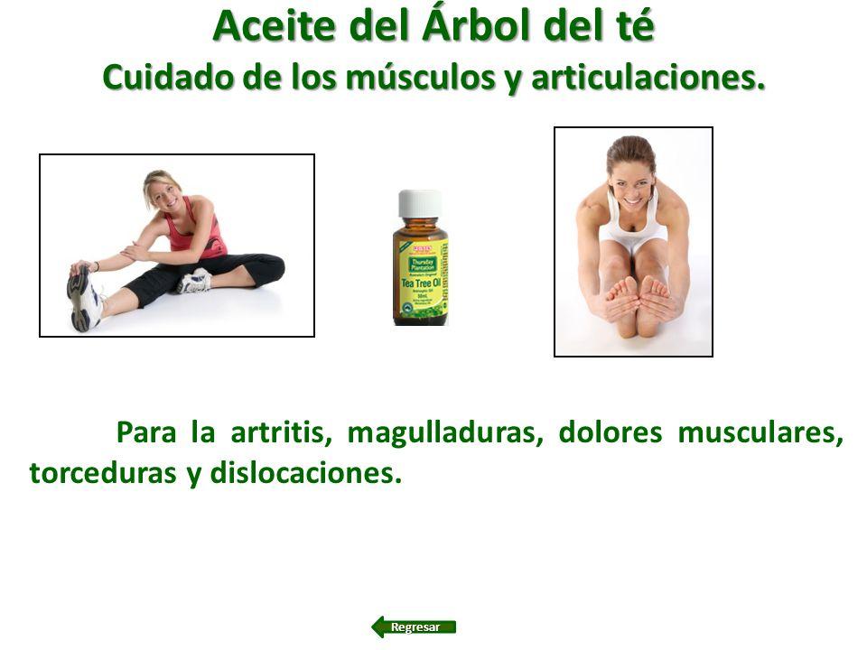 Cuidado de los músculos y articulaciones.