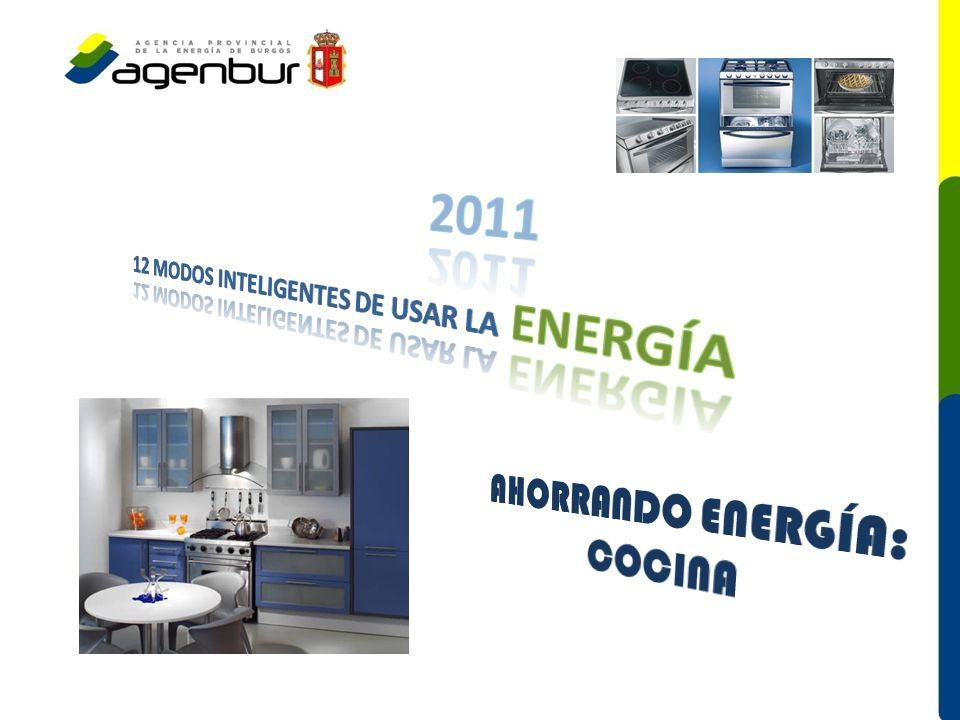 AHORRANDO ENERGÍA: COCINA