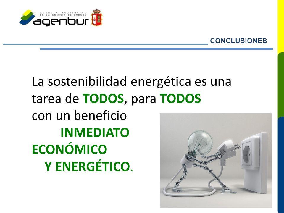 La sostenibilidad energética es una tarea de TODOS, para TODOS
