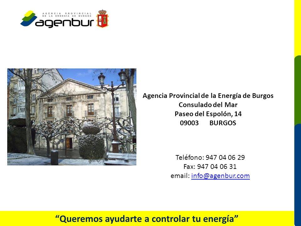 Queremos ayudarte a controlar tu energía