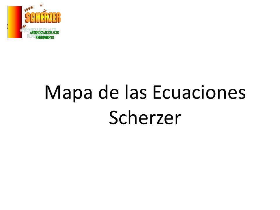 Mapa de las Ecuaciones Scherzer