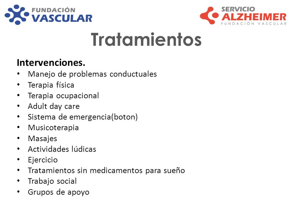 Tratamientos Intervenciones. Manejo de problemas conductuales