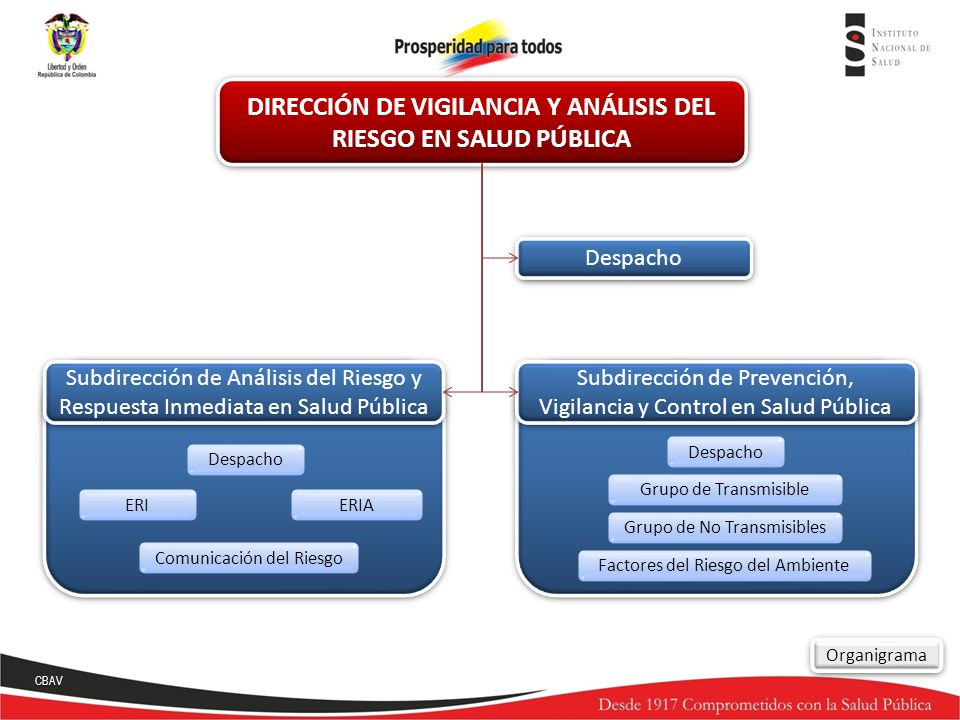 DIRECCIÓN DE VIGILANCIA Y ANÁLISIS DEL RIESGO EN SALUD PÚBLICA