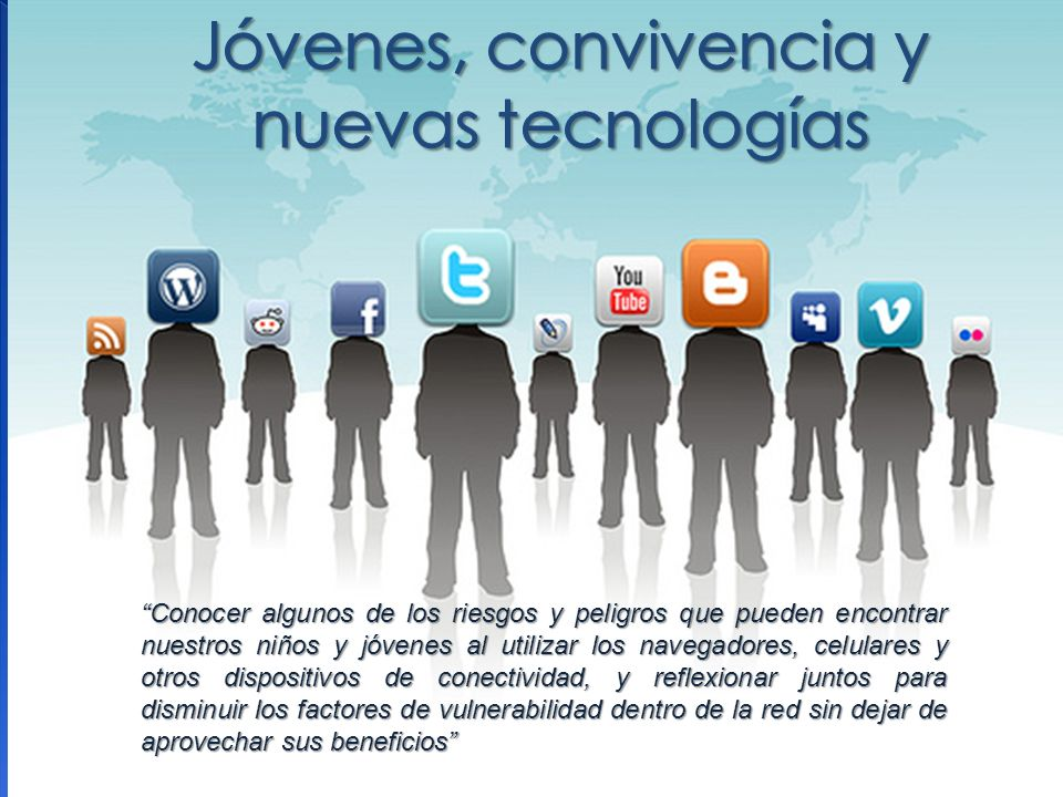 Jóvenes, convivencia y nuevas tecnologías