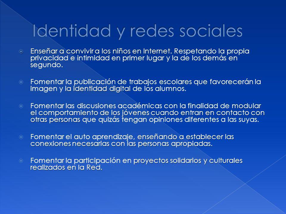 Identidad y redes sociales
