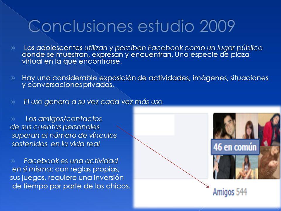 Conclusiones estudio 2009