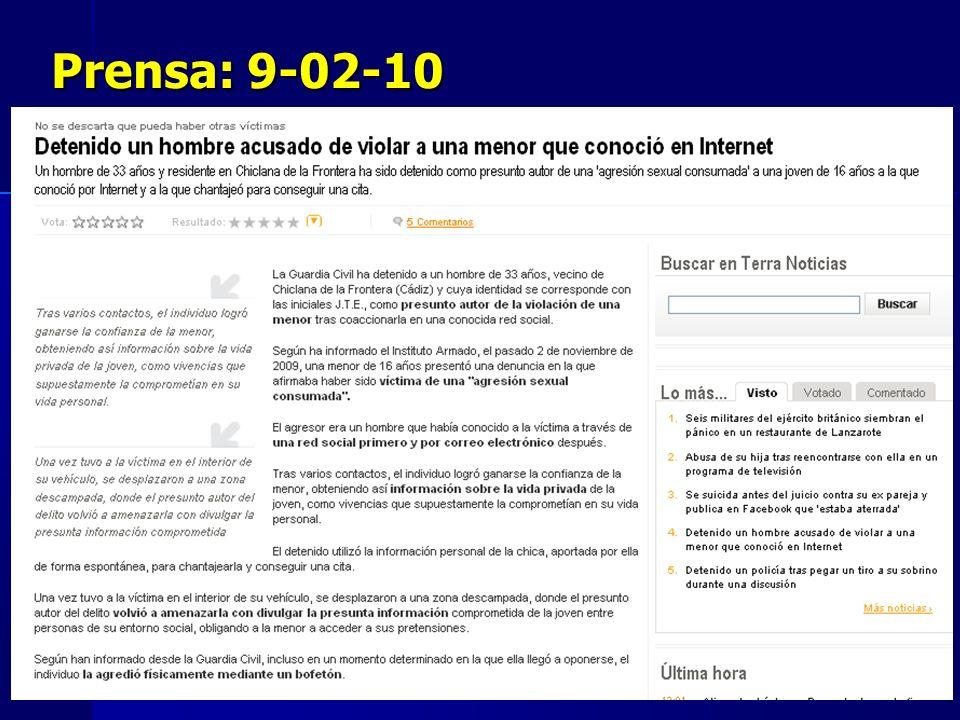 Prensa: 9-02-10